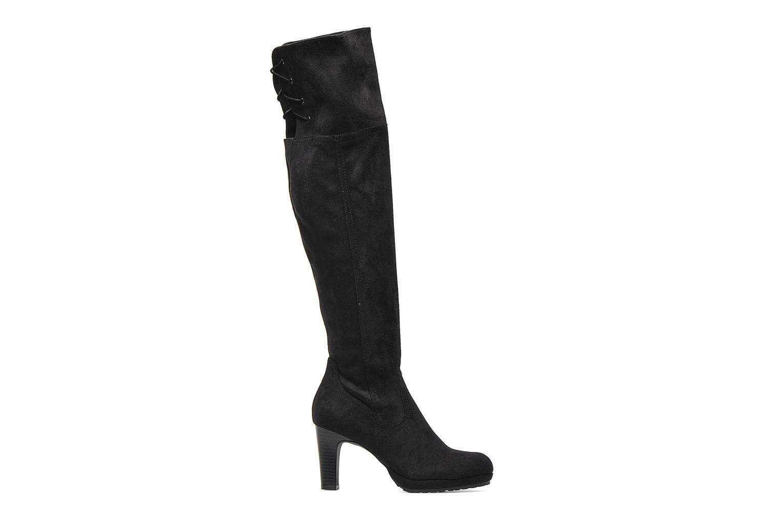 Boots & wellies Georgia Rose Kristolyn stretch Black back view