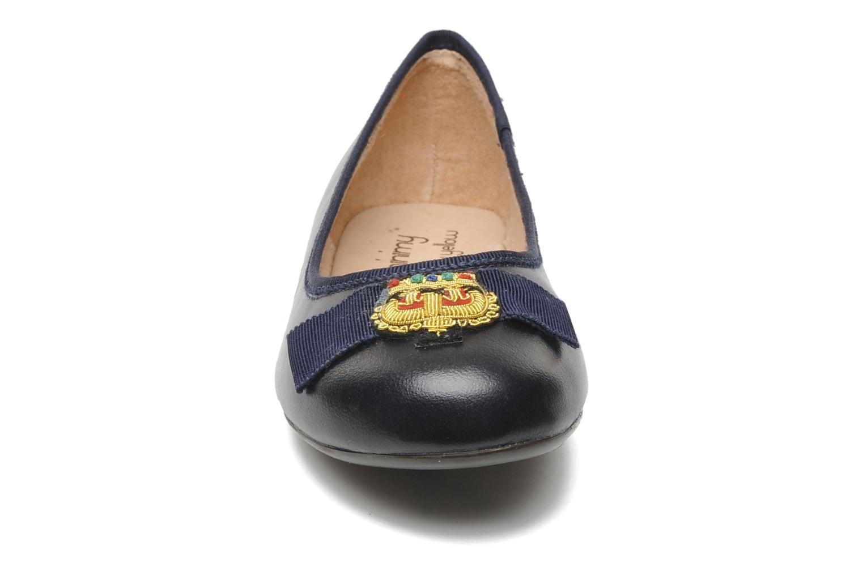 Ballerines Mellow Yellow Mini Obale Bleu vue portées chaussures