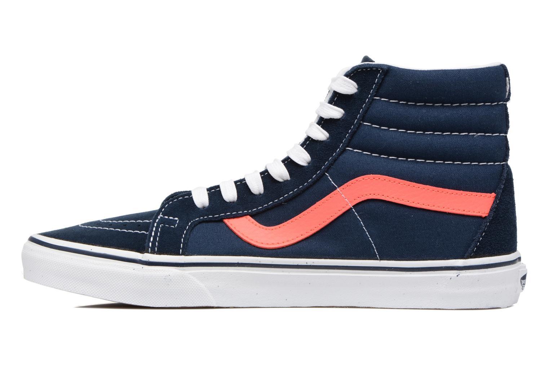 Sneakers Vans Sk8-Hi Reissue Blå bild från framsidan