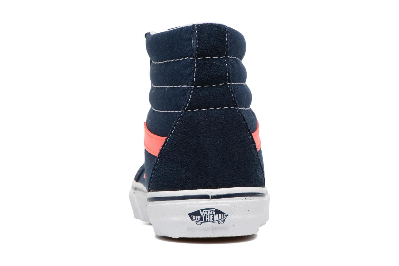 Sneakers Vans Sk8-Hi Reissue Blå Bild från höger sidan