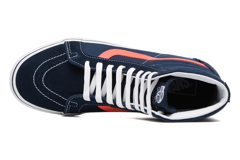 Sneakers Vans Sk8-Hi Reissue Azzurro immagine sinistra