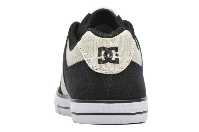 Baskets DC Shoes PURE B Noir vue haut