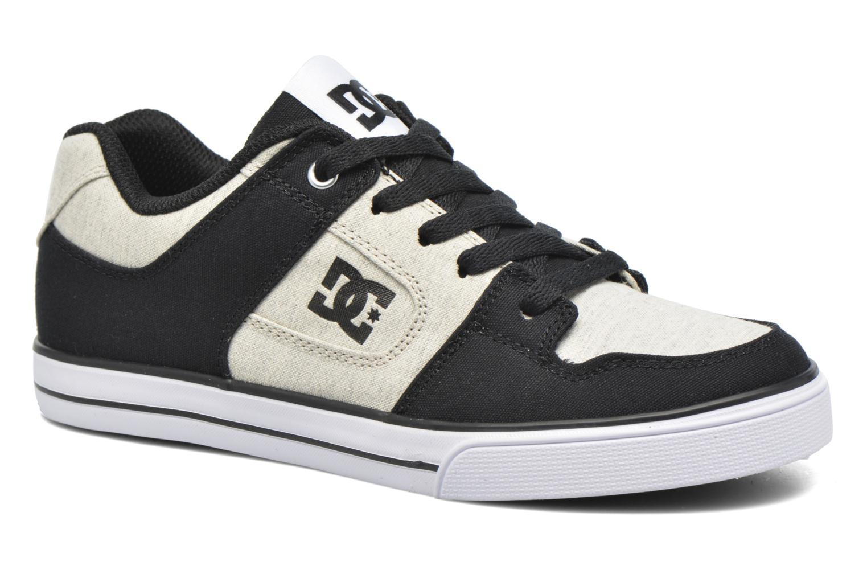 Baskets DC Shoes PURE B Noir vue détail/paire