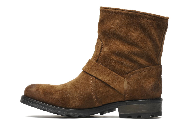 Bottines et boots P-L-D-M By Palladium Upcast Sud Marron vue face