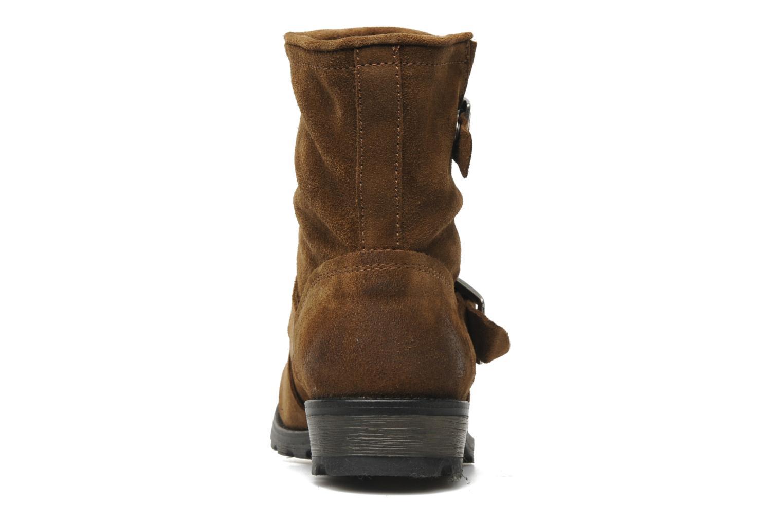Bottines et boots P-L-D-M By Palladium Upcast Sud Marron vue droite