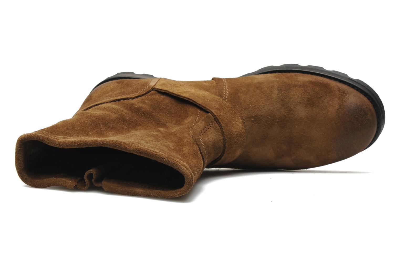 Bottines et boots P-L-D-M By Palladium Upcast Sud Marron vue gauche