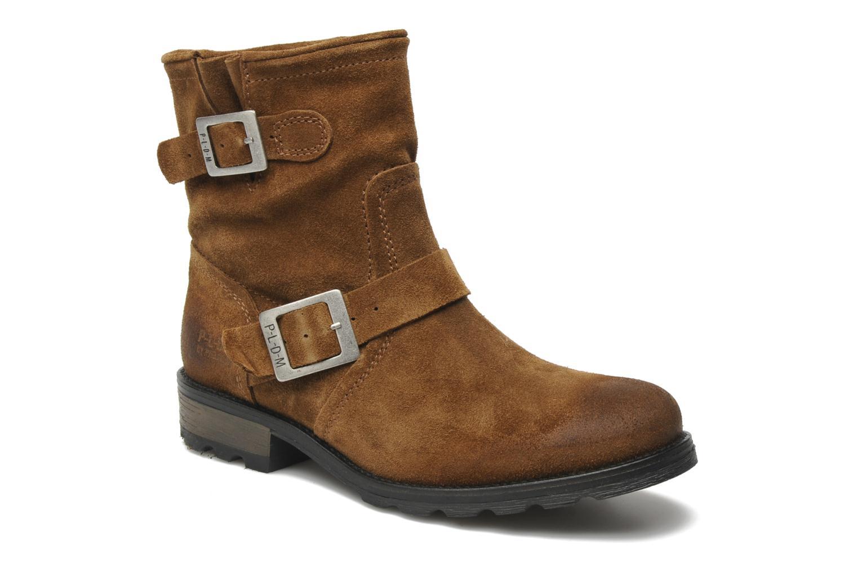 Bottines et boots P-L-D-M By Palladium Upcast Sud Marron vue détail/paire