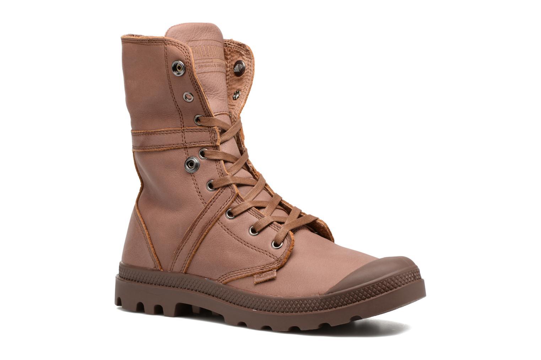 Stiefeletten & Boots Palladium Pallabrousse Baggy L2 U braun 3 von 4 ansichten