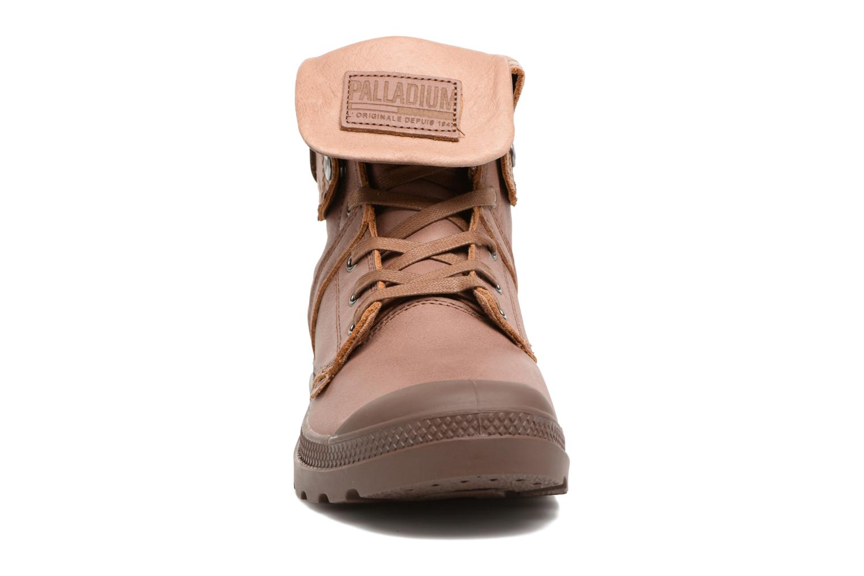 Stiefeletten & Boots Palladium Pallabrousse Baggy L2 U braun schuhe getragen