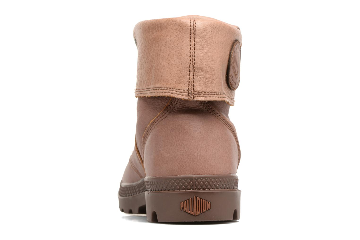 Ankle boots Palladium Pallabrousse Baggy L2 U Brown view from the right