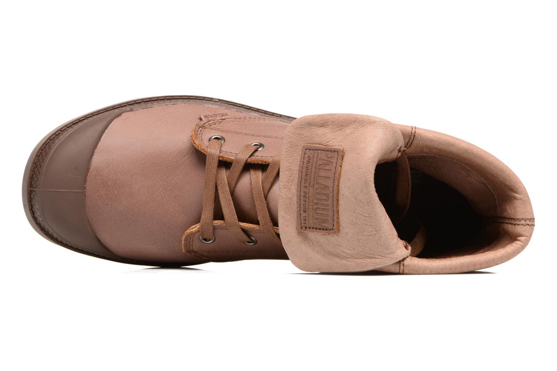 Stiefeletten & Boots Palladium Pallabrousse Baggy L2 U braun ansicht von links