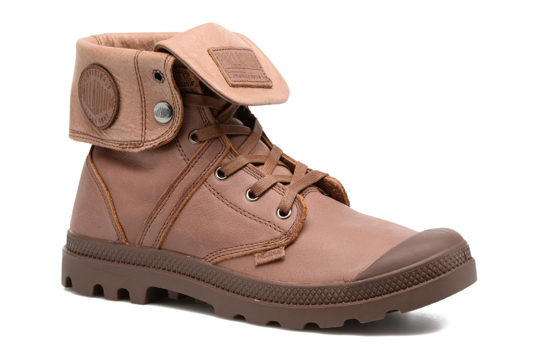 Stiefeletten & Boots Palladium Pallabrousse Baggy L2 U braun detaillierte ansicht/modell