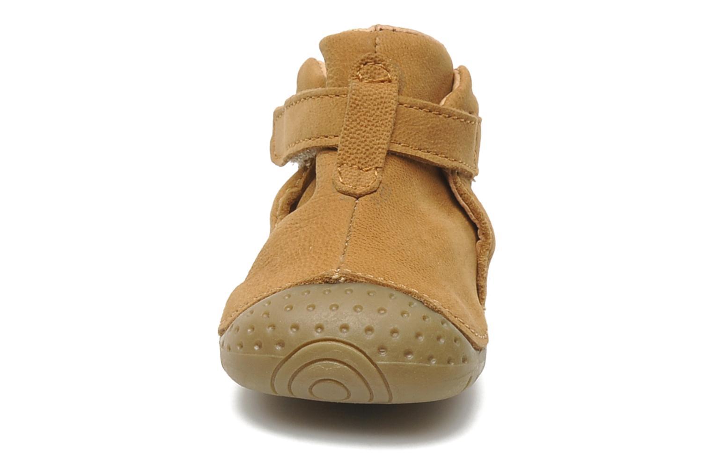 Chaussures à scratch Babybotte ZAK Marron vue portées chaussures