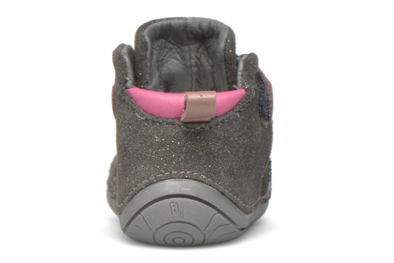 Chaussures à scratch Babybotte ZAK Gris vue droite