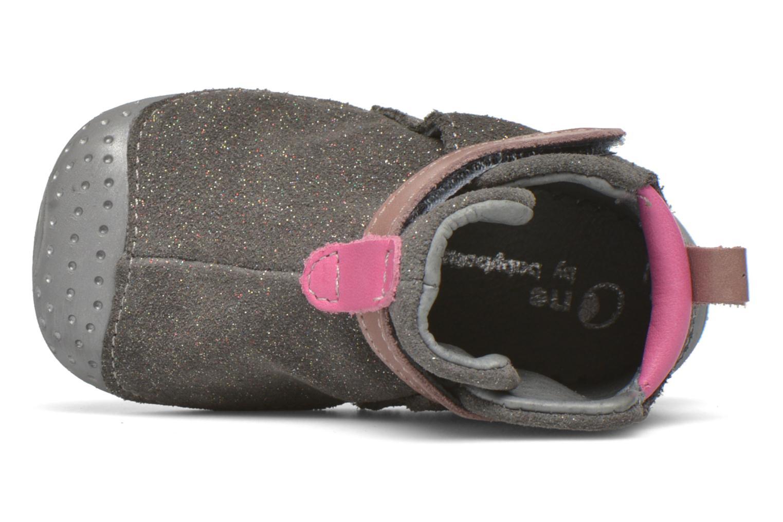 Scarpe con gli strappi Babybotte ZAK Grigio immagine sinistra