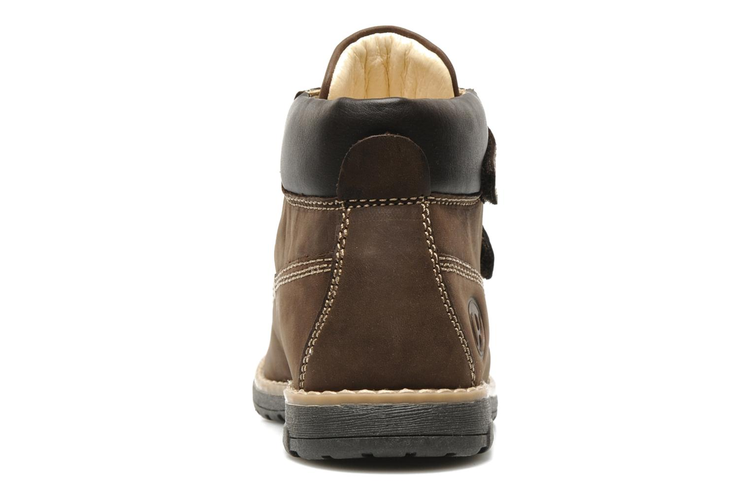 Ankle boots Primigi ASPY 1 Brown view from the right