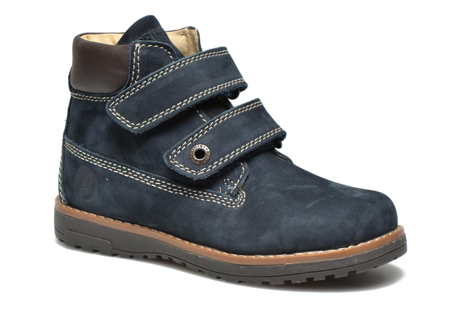 Ankle boots Primigi ASPY 1 Blue detailed view/ Pair view