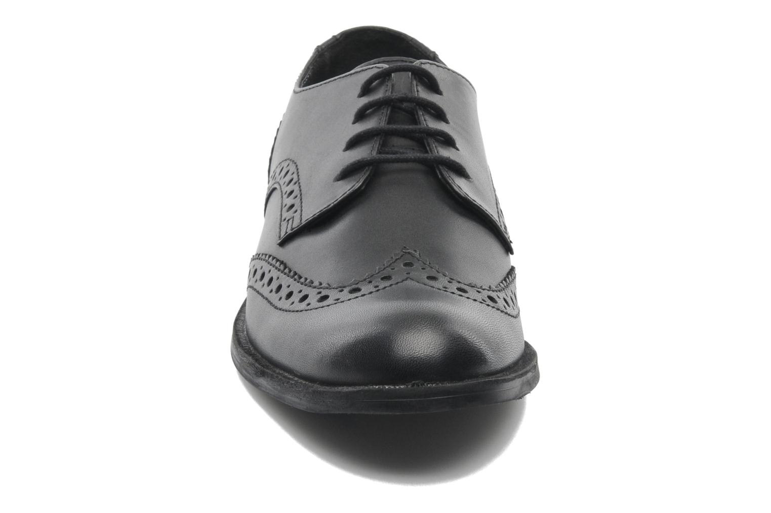 Burford Black leather