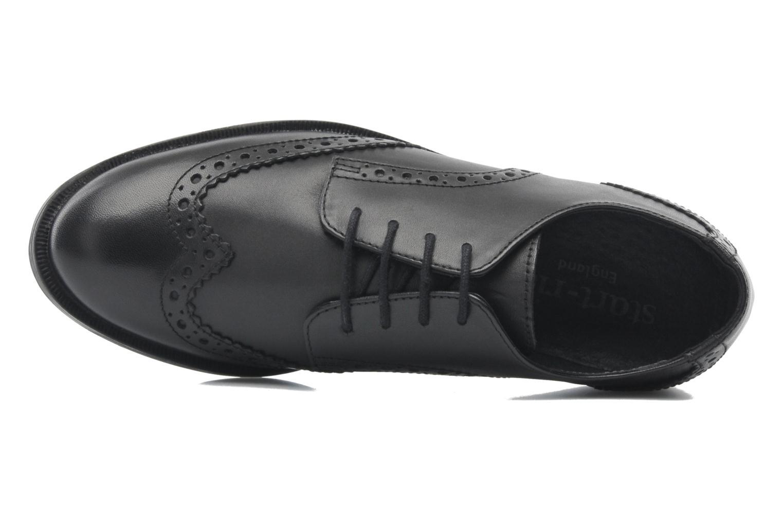 Chaussures à lacets Start Rite Burford Noir vue gauche