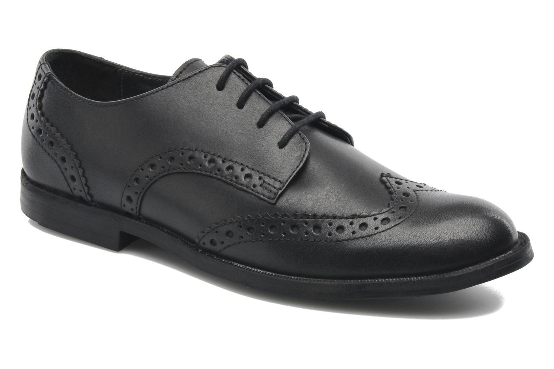 Chaussures à lacets Start Rite Burford Noir vue détail/paire