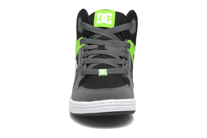 Baskets DC Shoes REBOUND B Vert vue portées chaussures
