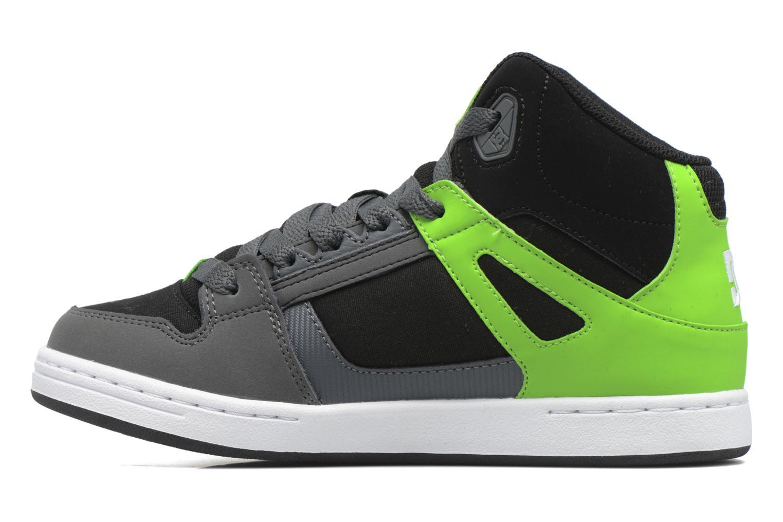 Deportivas DC Shoes REBOUND B Verde vista de frente