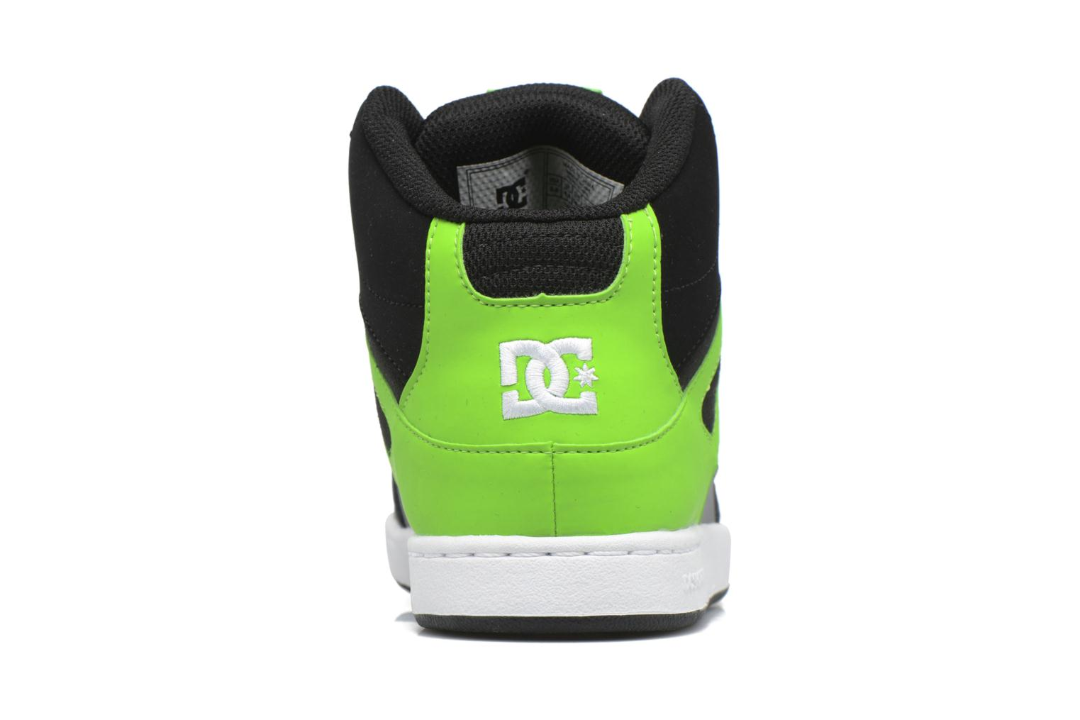 Trainers DC Shoes REBOUND B Green view from the right