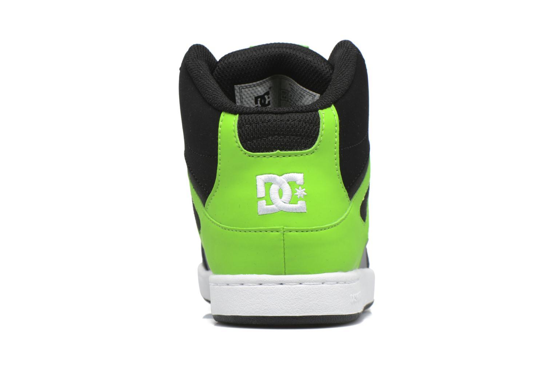 Deportivas DC Shoes REBOUND B Verde vista lateral derecha