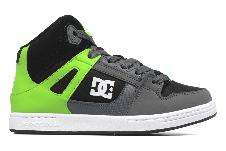 Deportivas DC Shoes REBOUND B Verde vistra trasera
