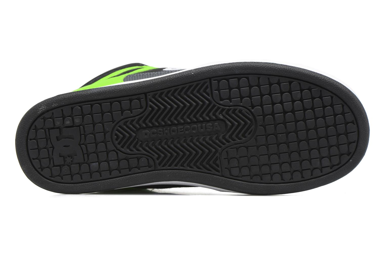 Deportivas DC Shoes REBOUND B Verde vista de arriba