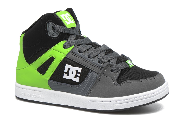 Deportivas DC Shoes REBOUND B Verde vista de detalle / par