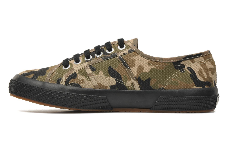 Sneakers Superga 2750 Cotu Camou Multicolore immagine frontale