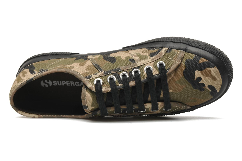 Sneakers Superga 2750 Cotu Camou Multicolore immagine sinistra
