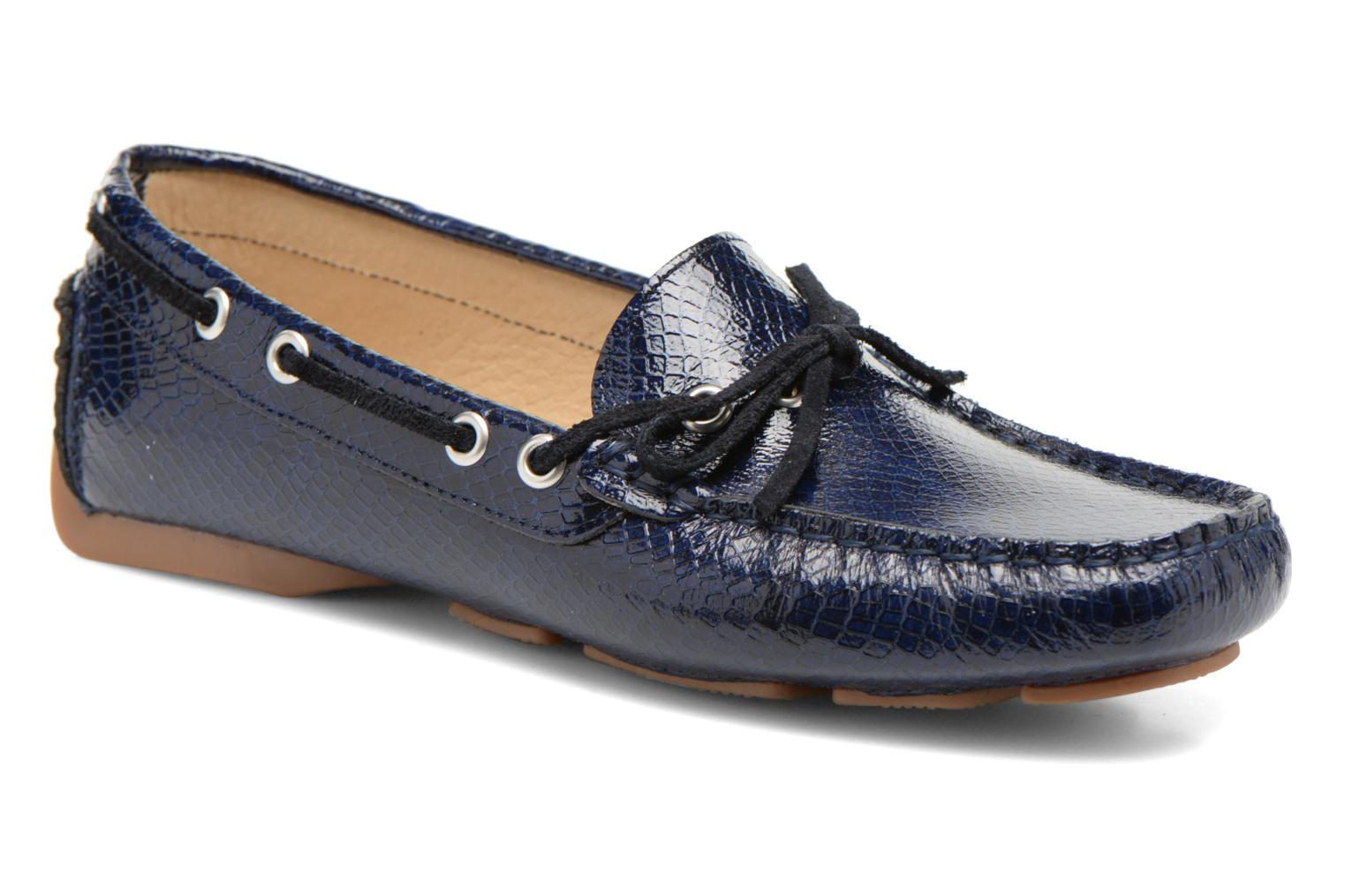 Loafers Georgia Rose Palarica Blue detailed view/ Pair view