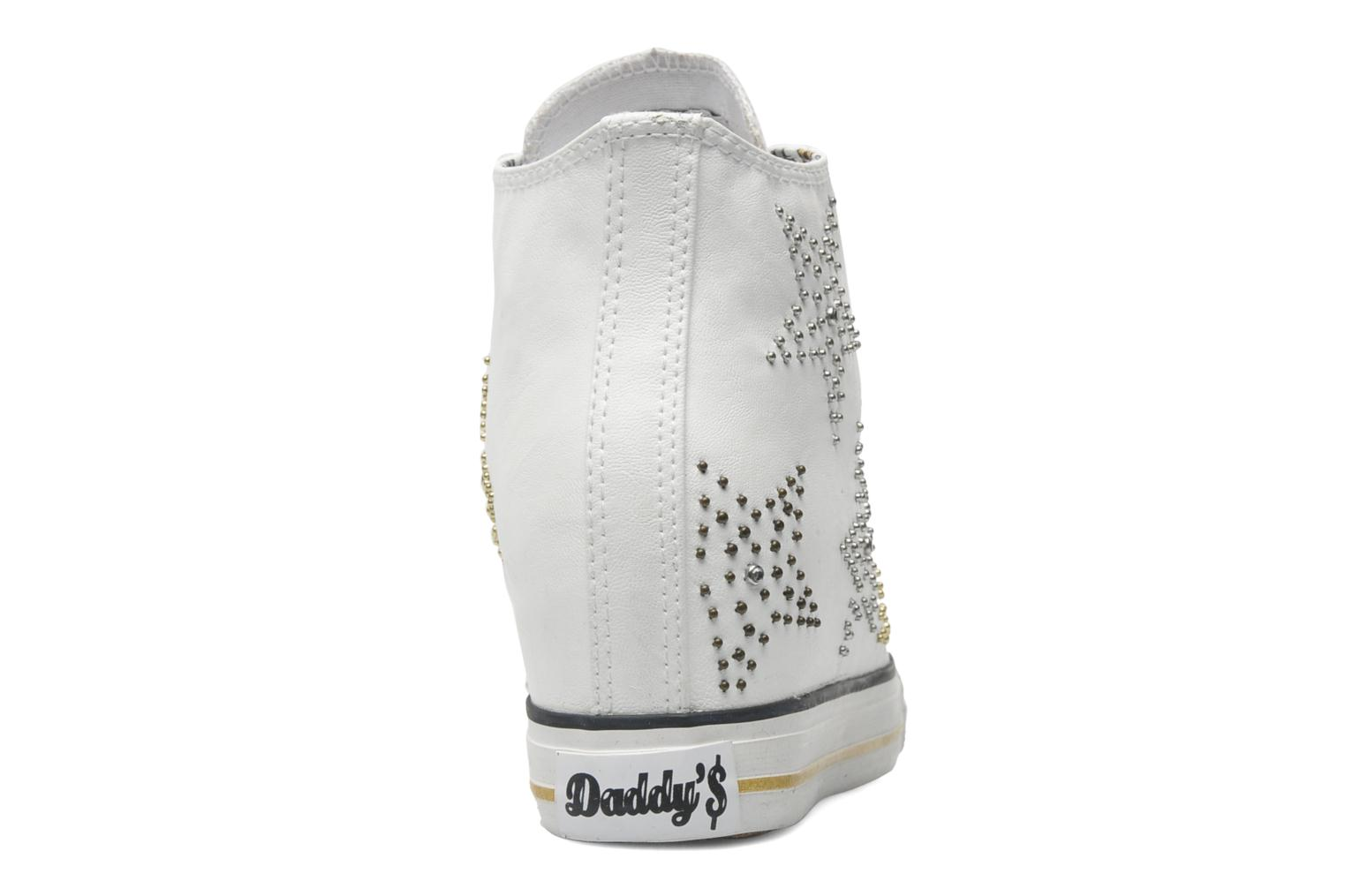 Deportivas Skechers Daddy's money - Stargazing 39419 Blanco vista lateral derecha