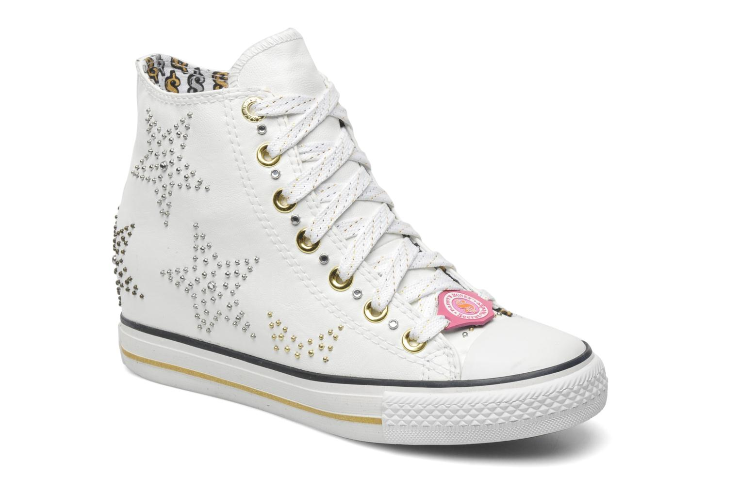 Deportivas Skechers Daddy's money - Stargazing 39419 Blanco vista de detalle / par