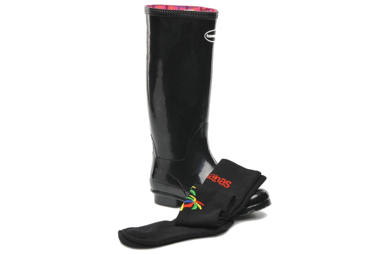 Botas Havaianas Helios Rain Boots Negro vista 3/4