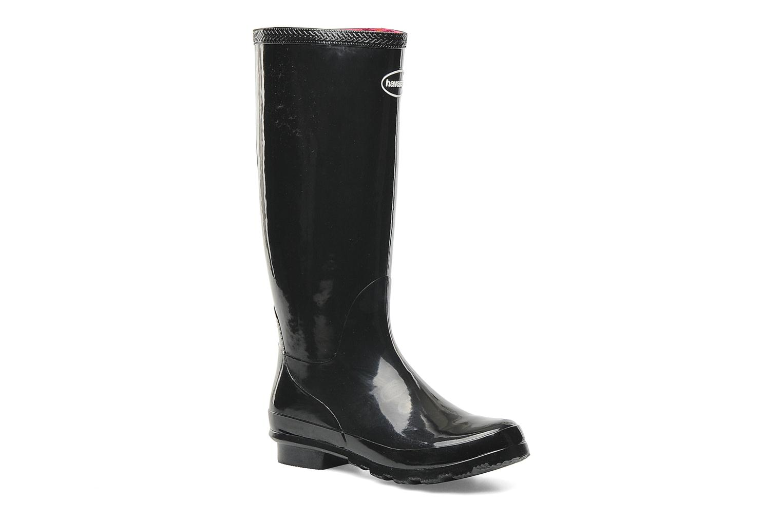 Boots & wellies Havaianas Helios Rain Boots Black detailed view/ Pair view