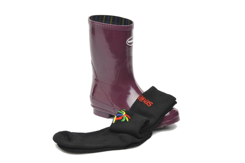 Boots Havaianas Helios Mid Rain Boots Lila 3/4 bild