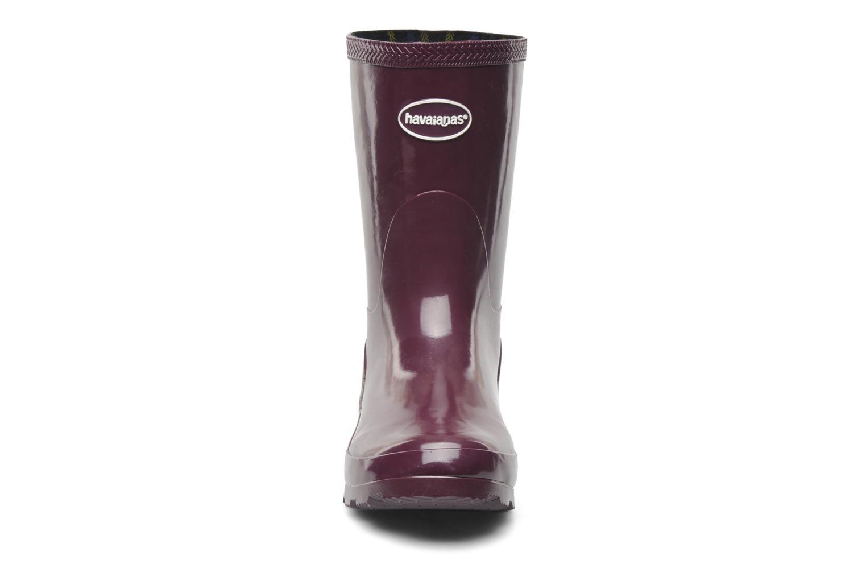 Bottines et boots Havaianas Helios Mid Rain Boots Violet vue portées chaussures
