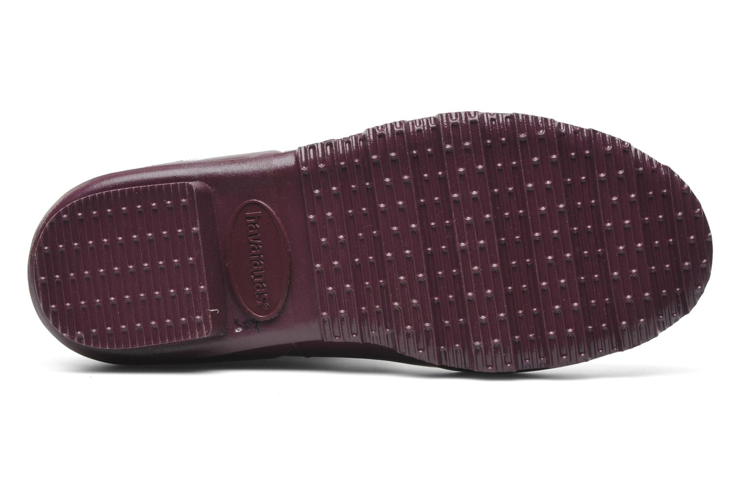 Ankle boots Havaianas Helios Mid Rain Boots Purple view from above