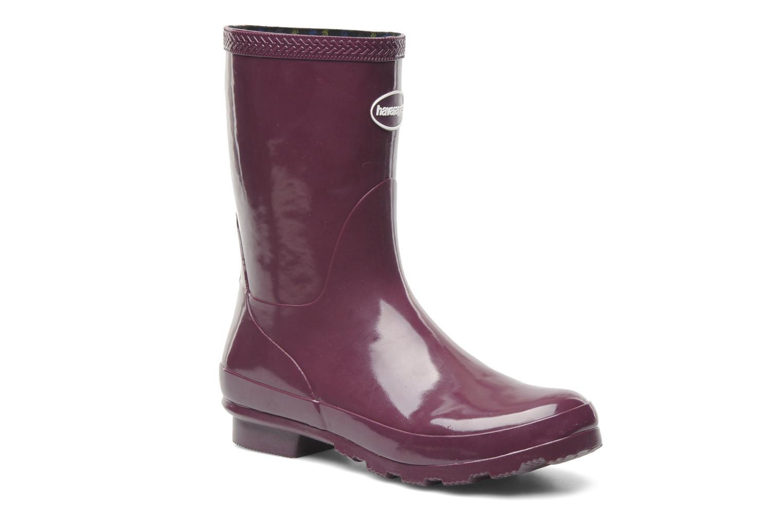 Ankelstøvler Havaianas Helios Mid Rain Boots Lilla detaljeret billede af skoene