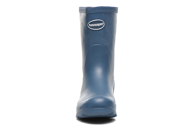 Botines  Havaianas Helios Mid Rain Boots Azul vista del modelo