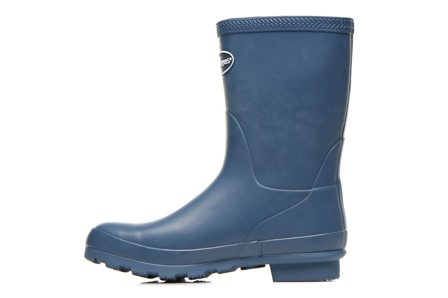 Ankle boots Havaianas Helios Mid Rain Boots Blue front view