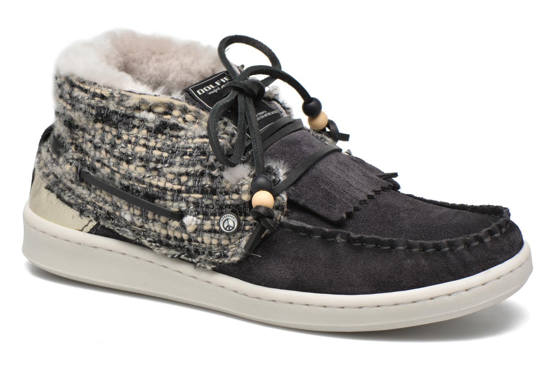 Grandes descuentos últimos zapatos Dolfie Landom Hi Fur (Negro) - Zapatos con cordones Descuento