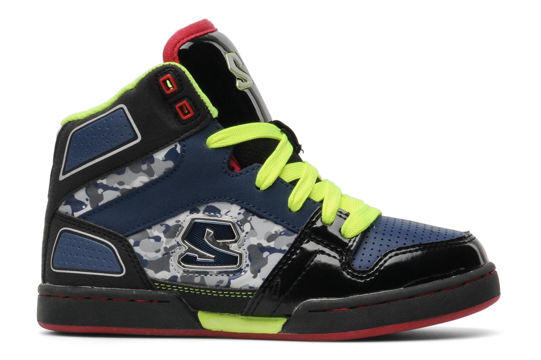 Sneakers Skechers Massive- Zwart achterkant