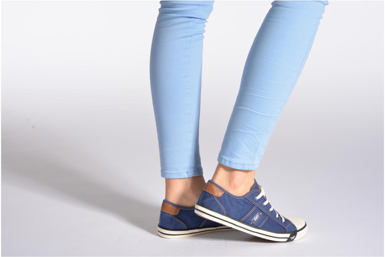 Sneakers Mustang shoes Pitaya Zwart onder
