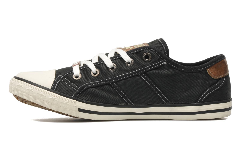 Sneakers Mustang shoes Pitaya Zwart voorkant