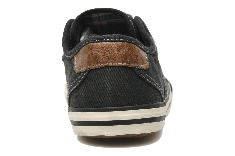 Baskets Mustang shoes Pitaya Noir vue droite