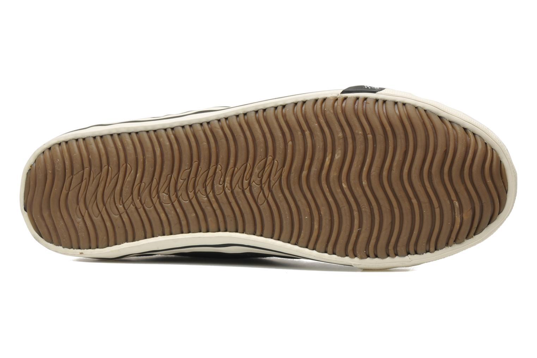 Baskets Mustang shoes Pitaya Noir vue haut